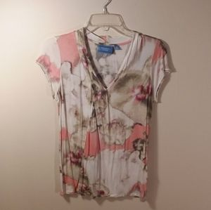 E081 Simply Vera, pullover short sleeve top